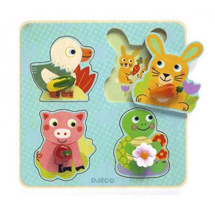 Imagem de Puzzle Croc- carrot