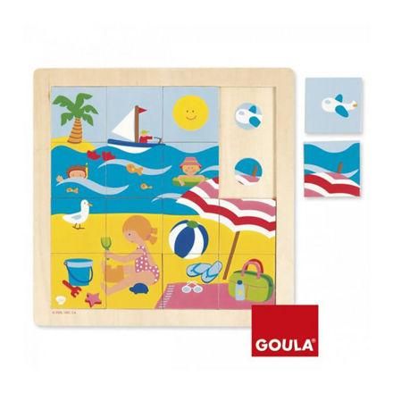 Imagem de Puzzle de Madeira - Verão