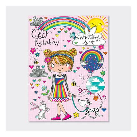 """Imagem de Conjunto de Escrita """"over the rainbow"""""""