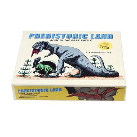 """Imagem de Puzzle Brilha no Escuro 100 Peças """"Prehistoric"""""""