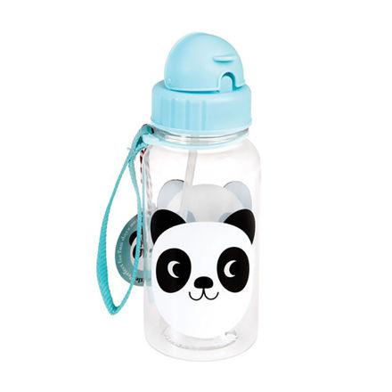 """Imagem de Garrafa de água com palhinha """"Panda Miko"""""""