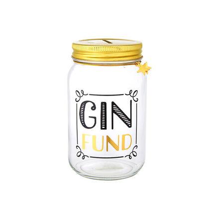 """Imagem de Mealheiro """"Gin Fund"""""""