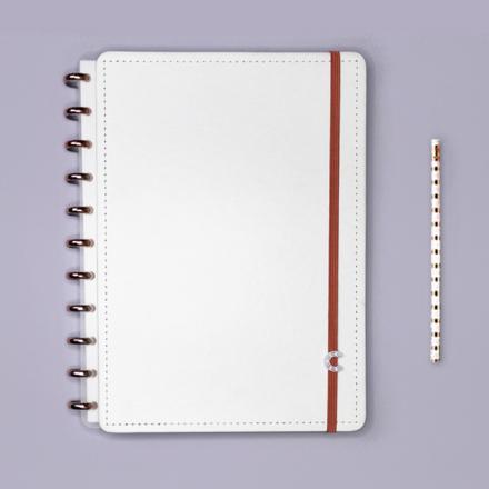 Imagem de Caderno All White - Grande
