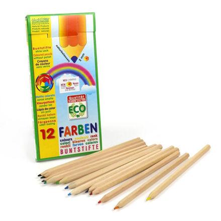 Imagem de Lápis de Cor Ecológicos, 12 cores