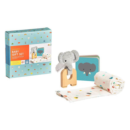 Imagem de Conjunto Presente Bebé - Elefante