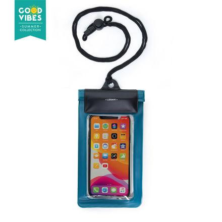 Imagem de Bolsa Impermeável para smartphone - Azul