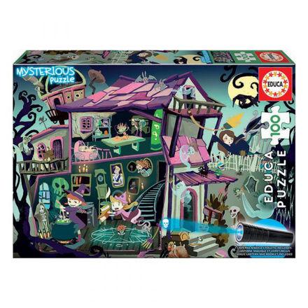 """Imagem de Puzzle Educa 100 Pcs """"Casa Encantada"""""""
