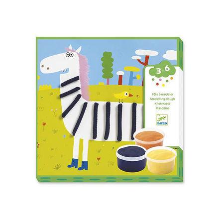 Imagem de Desenha e Molda - Kit de Plasticinas