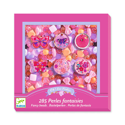 Imagem de Kit 285 Pérolas Fantasia - Rosa