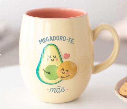 Imagem de Caneca - Megadoro-te, Mãe